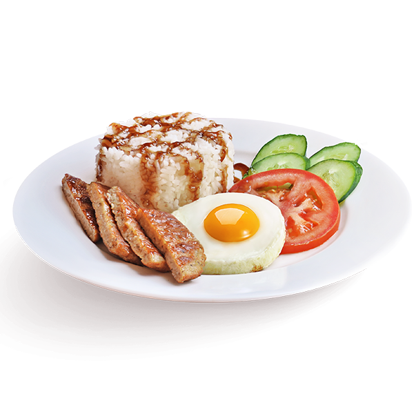 Grilled Pork Rice with Egg